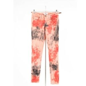 PAIGE Denim – Abstract Tie-Dye Jeans – Size 27